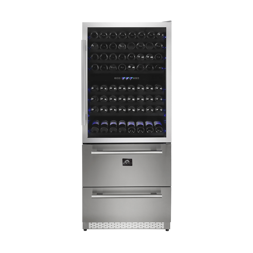 Wine Cooler Dual Zone 200 Bottles 144 Cans Fwcdr6661 30